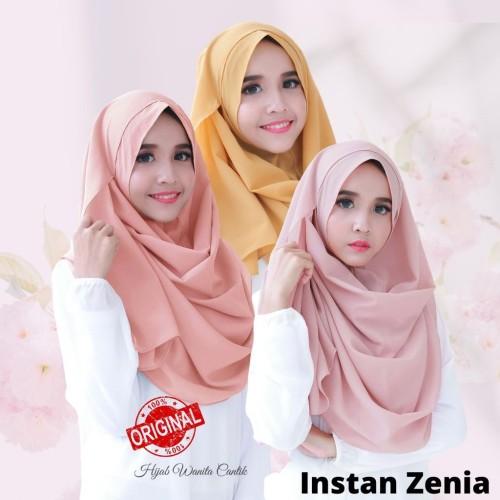 Foto Produk Hijabwanitacantik ORI Pasmina Instan Zenia ORIGINAL | Hijab Instan | dari MITRA TIGA