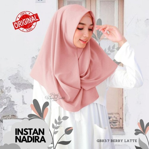 Foto Produk Hijabwanitacantik ORI Instan Nadira ORIGINAL | Hijab Instan | Jilbab dari MITRA TIGA