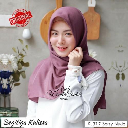 Foto Produk Hijabwanitacantik ORI Segitiga Kalissa ORIGINAL   Hijab Instan   dari MITRA TIGA
