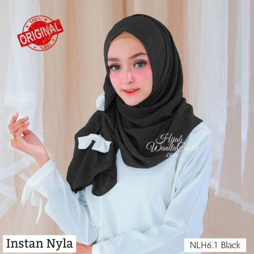 Foto Produk Hijabwanitacantik ORI Pashmina Instan Nyla ORIGINAL | Hijab Instan | dari MITRA TIGA
