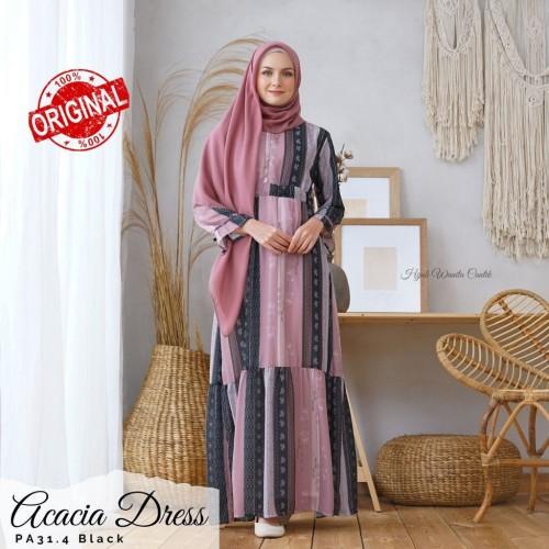 Foto Produk Hijabwanitacantik ORI Acacia Dress| Melly Overal ORIGINAL |gamis dress dari MITRA TIGA