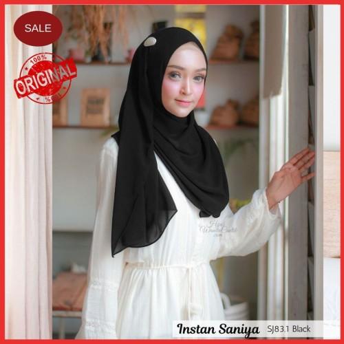 Foto Produk Hijabwanitacantik ORI   DEFECT SALE Pashmina Instan Saniya ORIGINAL   dari MITRA TIGA