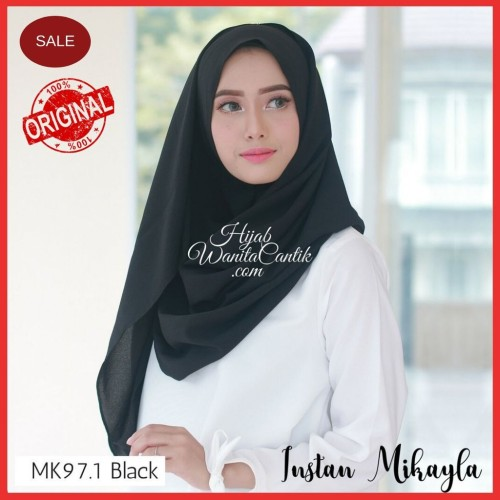 Foto Produk Hijabwanitacantik ORI   DEFECT SALE Pashmina Instan Mikayla ORIGINAL   dari MITRA TIGA