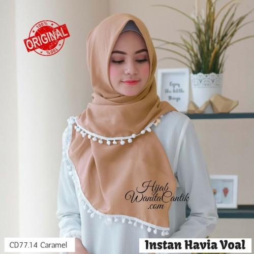 Foto Produk Hijabwanitacantik ORI Instan Havia Voal ORIGINAL | Hijab Instan | dari MITRA TIGA