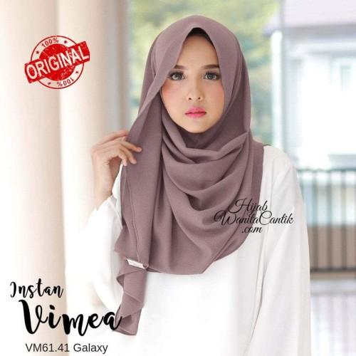 Foto Produk Hijabwanitacantik ORI   Pashmina Instan Vimea VM61.41 Galaxy ORIGINAL dari MITRA TIGA