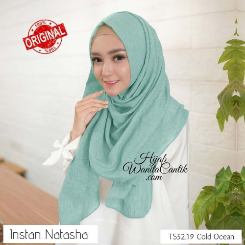 Foto Produk Hijabwanitacantik ORI Pashmina Instan Natasha ORIGINAL   Hijab Instan dari MITRA TIGA