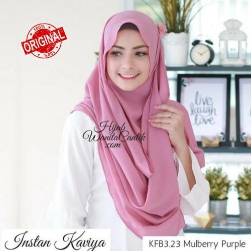 Foto Produk Hijabwanitacantik ORI Pashmina Instan Kaviya ORIGINAL | Hijab Instan | dari MITRA TIGA