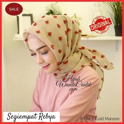 Foto Produk Hijabwanitacantik ORI | DEFECT SALE Segiempat Rebya ORIGINAL | Hijab dari MITRA TIGA