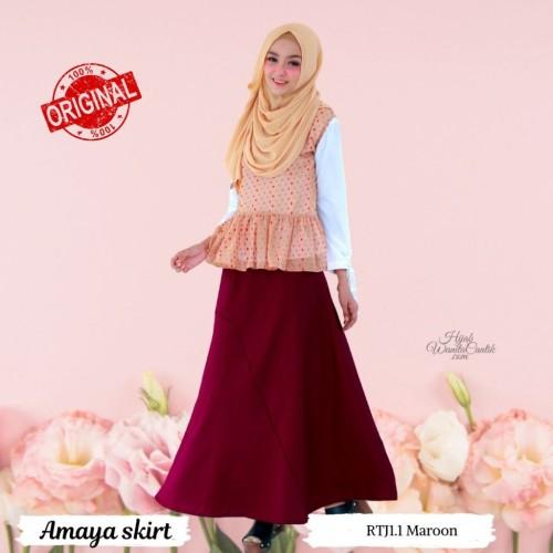 Foto Produk Hijabwanitacantik ORI Amaya Skirt ORIGINAL   Rok dari MITRA TIGA