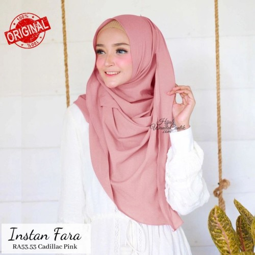 Foto Produk Hijabwanitacantik ORI Pashmina Instan Fara ORIGINAL | Hijab Instan | dari MITRA TIGA