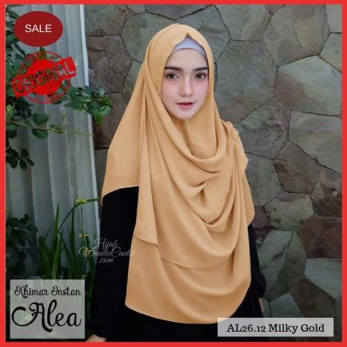 Foto Produk Hijabwanitacantik ORI  DEFECT SALE Khimar Instan Alea ORIGINAL   hijab dari MITRA TIGA