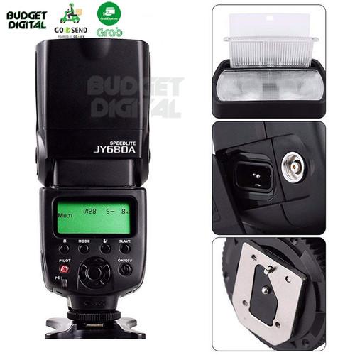 Foto Produk Universal Flash Viltrox JY-680A LCD for Canon Nikon Pentax Olympus dari BudgetDigital