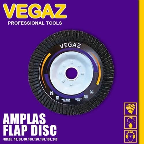 Foto Produk VEGAZ - Amplas Susun / Sisir / Sirip / Flap Disc / Flap Disk dari Vegaz-Tools
