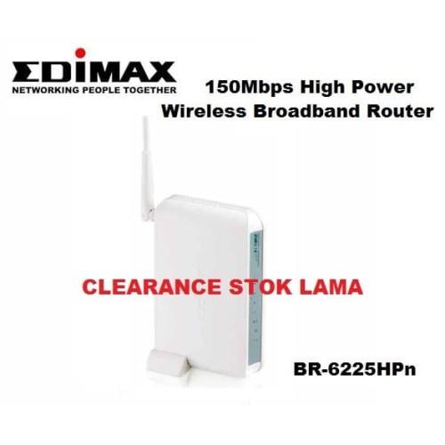 Foto Produk Wireless Router Edimax BR-6225HPn 150Mbps High power (Clearance) dari Adi Raya