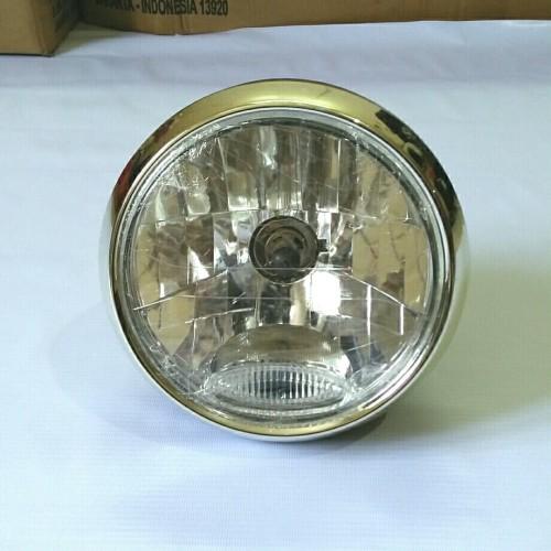 Foto Produk reflektor lampu depan cb 100 yb 100.tiger.verza.rx king.vixion.scorpio dari Chenka Jaya
