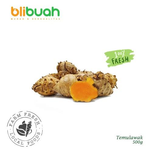 Foto Produk Temulawak Jumbo 500g / Obat Herbal Temulawak dari blibuah official