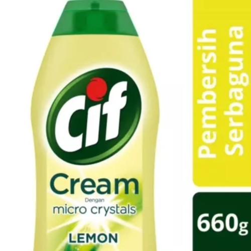 Foto Produk CIF Cream Lemon 660gr (Krim Pembersih Serbaguna) dari DAPURWANGI