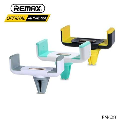 Foto Produk REMAX Car Holder RM-C01 - WHITE GREY dari Remax Indonesia Official