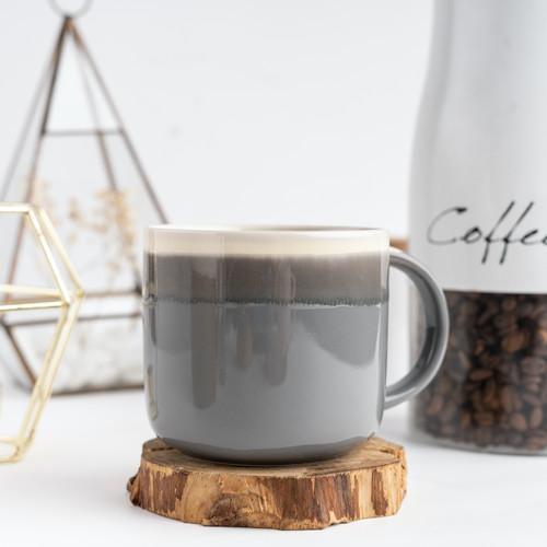 Foto Produk UCHII TERUMAGU Ceramic Mug Medium 15oz Gelas Gagang Keramik Colorful - Abu-abu dari uchii store