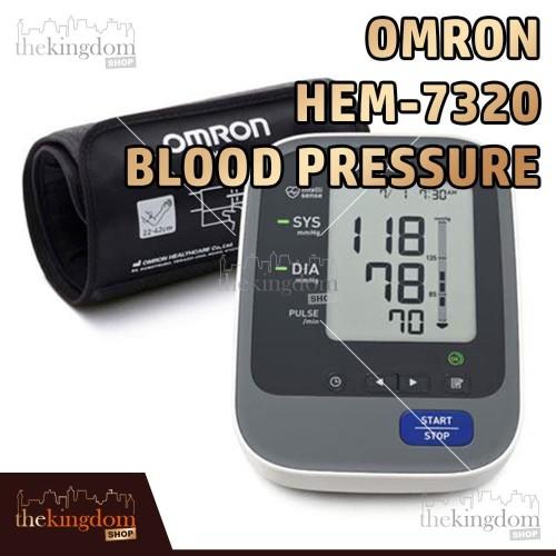 Foto Produk Omron HEM 7320 Blood Pressure Monitor Alat Tensi Darah Digital dari The Kingdom Shop