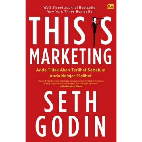 Foto Produk Buku This Is Marketing Seth Godin dari Showroom Books