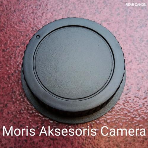 Foto Produk Tutup Lensa Canon Rear Lens Cap dari Moris Aksesoris Camera