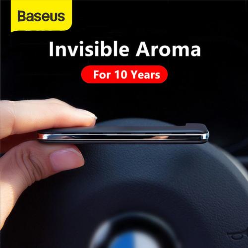 Foto Produk BASEUS PADDLE CAR AIR VENT FRESHENER PEWANGI MOBIL PARFUM MOBIL - Hitam dari Baseus Official Store