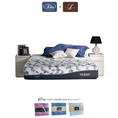 Foto Produk Kasur Dr. Smart Elite New Edition (Mattress Only) - 100 x 200 dari Elite Springbed