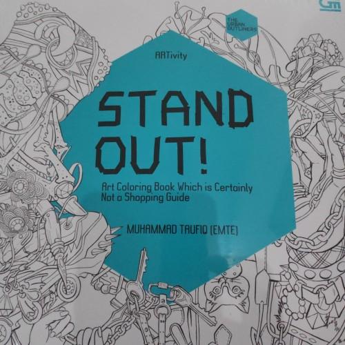 "Foto Produk Adult coloring book ""STAND OUT"" seri ARTivity - Muhammad Taufiq (EMTE) dari Just_Store"