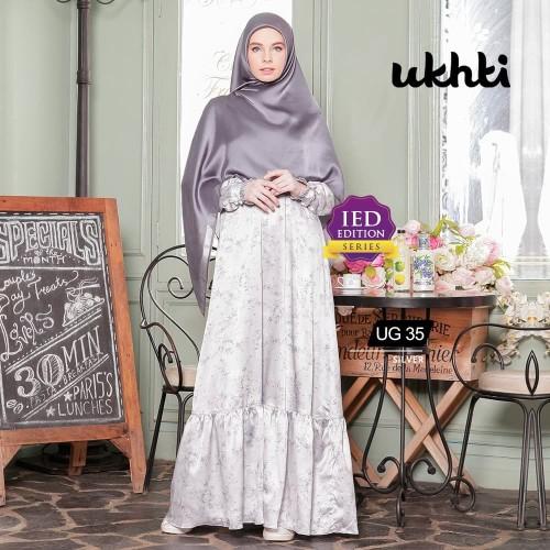 Foto Produk Gamis Ukhti UG 35 Size XL dari FarraShop