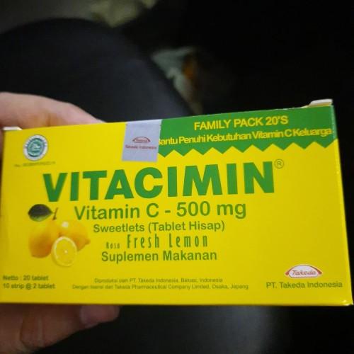 Foto Produk Vitacimin 1 box isi 20 tablet rasa lemon dari Istana Alesha