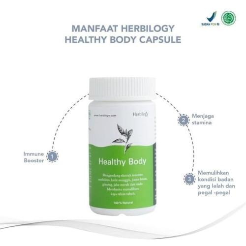 Foto Produk Herbilogy - Healthy Body Capsule 550mg - Immune Booster dari Jagapati