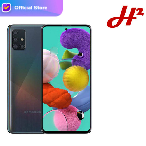 Foto Produk Samsung Galaxy A51 8/128 - RAM 8GB / ROM 128GB - Garansi Resmi - Hitam dari H2 Cellular