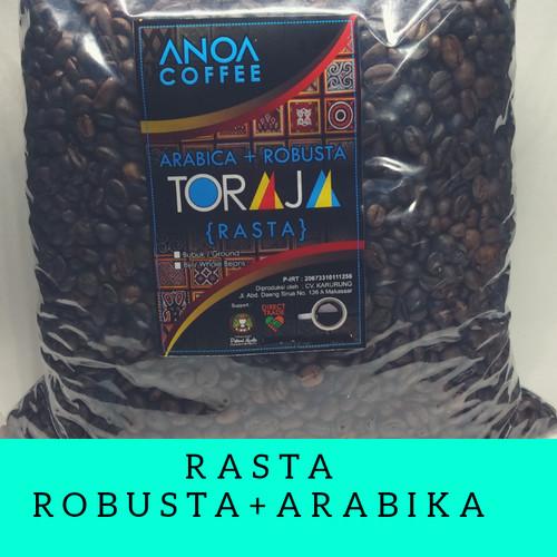 Foto Produk ANOA COFFEE Robusta + Arabika (Rasta) 1000gr - Biji Kopi / Bubuk Kopi - BIJI KOPI dari penjual kopi