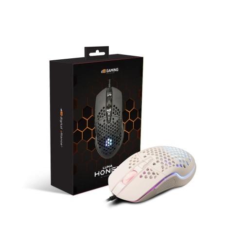 Foto Produk Digital Alliance Luna Honey Mouse Gaming White dari Digital Alliance