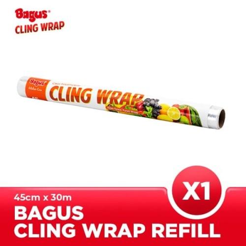 Foto Produk Bagus Cling Wrap Refill (45 CM X 30 M) [Polyethylene / Non-PVC] dari Bagus Official Store