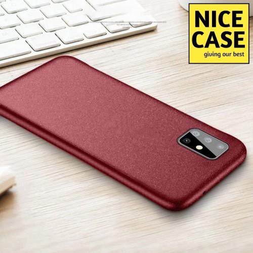 Foto Produk SAMSUNG A71 SOFT CASE SILIKON COVER SANDSTONE SCRUB COVER TIPIS KESET dari NICE CASE