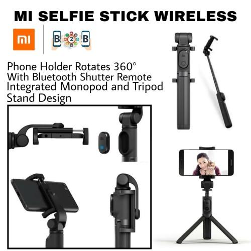 Foto Produk XIAOMI Tongsis Selfie Stick - Tongsis Wireless Minipod Tripod Tomsis dari b2b mobile