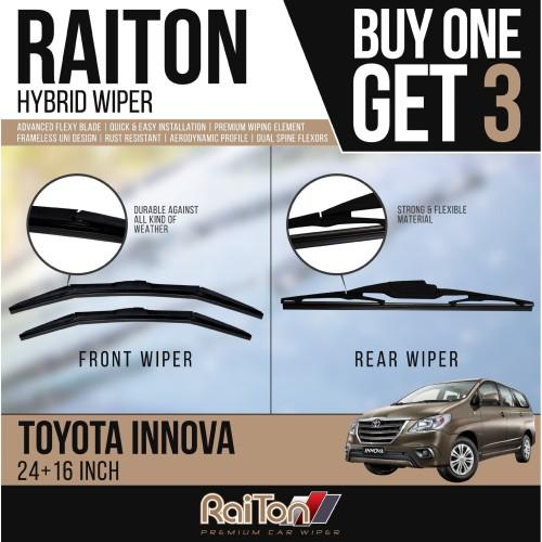 Foto Produk Raiton Wiper Hybrid BUY ONE GET 3 FOR Toyota Innova dari Raiton