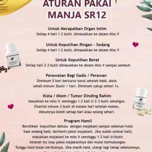 Jual Dapatkan Segera Manjakani Sr12 Free Gift Solusi Kesehatan Organ Intim Jakarta Timur Ananeo Tokopedia