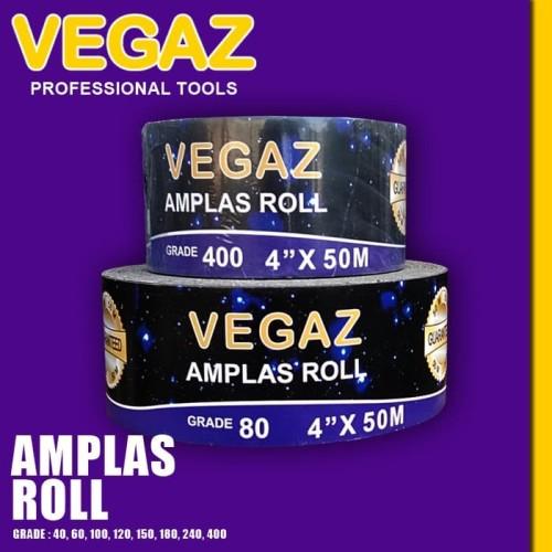 Foto Produk VEGAZ - Amplas Roll / Abrasive Roll dari Vegaz-Tools
