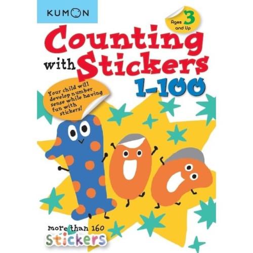 Foto Produk Buku Anak - Kumon - Counting with Stickers 1-100 dari Kumon Publishing INA