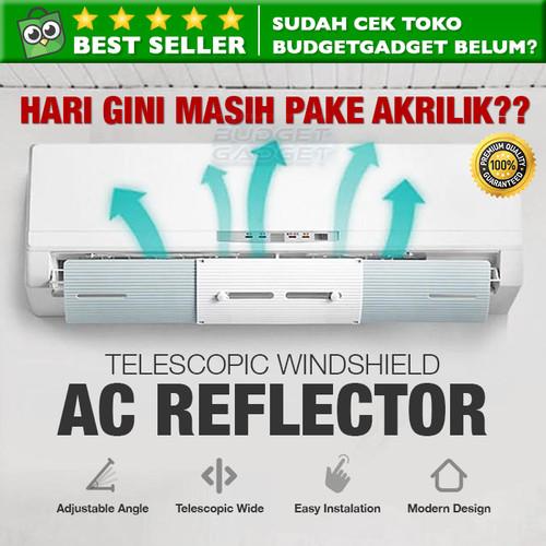Foto Produk Cover Pelindung Angin AC Adjustable Windshield Talang AC - JCQ112 dari BudgetGadget