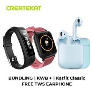 Foto Produk Bundling Katfit Watch Band dan Katfit Classic dari CreateKat