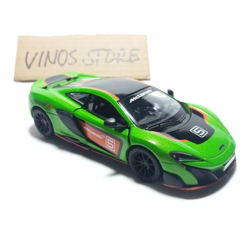 Foto Produk DIECAST MOBIL MCLAREN 675LT MET]pAL FIBER limited - Hijau dari mainan anakmurah
