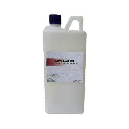 Foto Produk 1000 ml - minyak atsiri daun cengkeh /clove leaf oil (kemasan derigen) dari pavettia essential oil