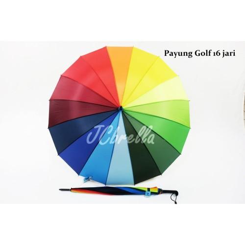 Foto Produk Payung golf pelangi 24 jari dari JCbrella