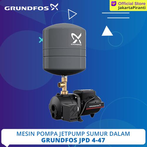 Foto Produk Mesin Pompa Air Sumur Dalam Jetpump Grundfos JPD 4-47 PT - JD Basic 3 dari Jakarta Piranti