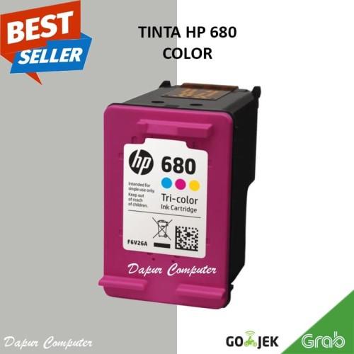 Foto Produk Tinta Warna Printer HP 680 Color Deskjet 2135 3635 Original Cartridge dari Dapur Computer