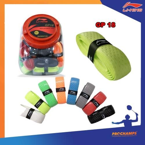 Foto Produk Grip Badminton - LINING GP 18 - Original dari pro champion